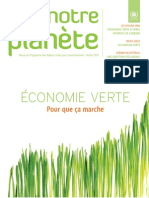 Notre Planète - Green Economy - Making it work - Français