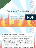 The Normal Christian Life.pptxwalking in Spirit