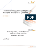 Troubleshooting Cisco Catalyst 2960 3560 and 3750 Series Switches