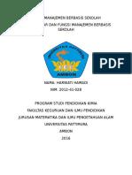 Tugas Manajemen Berbasis Sekolah1