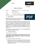 107-13 - PROINVERSIÓN - Culminación de Contrato