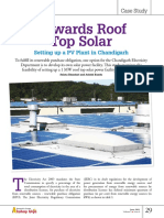 Towards Roof Top Solar plant
