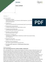 L&T Technology Services Limited-Cost Estimator-Vadodara