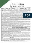 Friday Bulletin 168