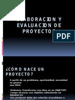 Elaboracion y Evaluacion de Proyectos Primer Parcial Ix Nivel-2