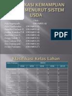 Klasifikasi Kemampuan Lahan Menurut Sistem USDA