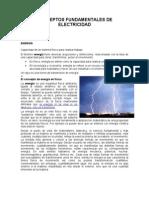 CONCEPTOS  FUNDAMENTALES DE ELECTRICIDAD 1