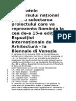 Rezultatele Concursului național pentru selectarea proiectului care va reprezenta România la cea de.docx