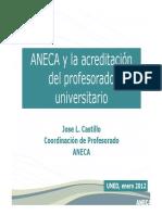JLCastillo-ANECA-Evaluacion de Profesorado-UNED-Enero2012.pdf