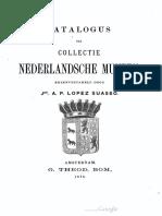 Catalogus der collectie Nederlandsche munten, bijeenverzameld door jhr. A.P. Lopez Suasso