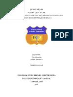 AUTOMATIC FAN CONTROL USING LDR AND SENSOR SUHU BERBASIS MIKROKONTROLER ATMEGA 16.docx