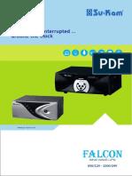 Sine Wave Home UPS Falcon Series Brochure