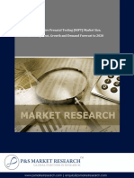 Global Non-Invasive Prenatal Testing Market by P&S Market Research
