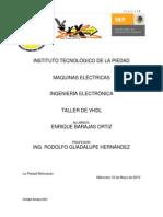 Simposio Taller de VHDL