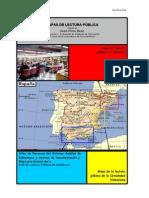 Mapa de lectura pública en España