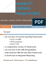 sustainability reporting frameworks