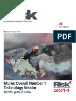 Risk Technology Rankings 2014