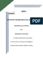 Resumen generadores Sincrónos