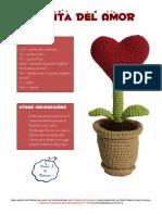 Patron Planta Del Amor -ES- PuntosDeFantasia