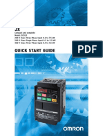 Omron JX Quick Start Guide