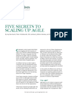 BCG Five Secrets to Scaling Up Agile Feb 2016 Tcm80 205125