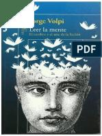 Leer La Mente  Jorge Volpi