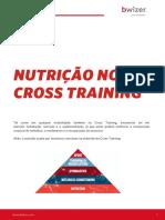 Dicas de nutrição no Cross Training