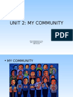 Unit 2 My Community