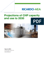 Projections of CHP Capacity Use to 2030 2204