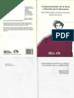 Apel Karl Otto - Fundamentacion De La Etica Y Filosofia De La Liberacion.pdf