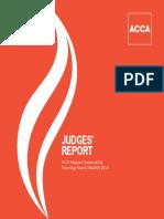 Judges Report2014
