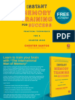 Instant Memory Training for Success Sample Chapter