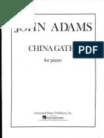 Adams, John - China Gates