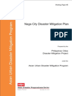 Naga City Disaster Mitigation Plan