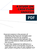 a study on cash flow anaylsis Ppt