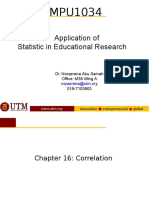 Chapter 16-17 - Correlation  Regression latest.ppt