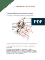 Zonas Carboníferas de Colombia