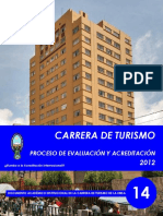 14 Documentos de Apoyo Documento Institucional de La Carrera de Turismo de La Umsa