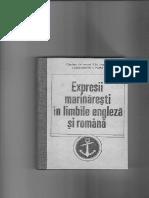 Expresii marinărești în limba engleză și română a C.I. Popa - Partea I