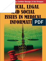 Ethical_Legal and Social Issues in Medical Informatics