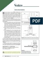 Efficient Kugelrohr Distillation Cooling