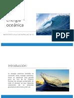 Energía Oceánica