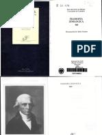 Lamarck Jean Baptiste Filosofia Zoologica