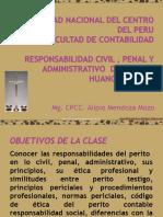 Responsabilidad Civil y Penal Del Perito 2014