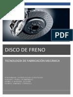 Disco de Freno