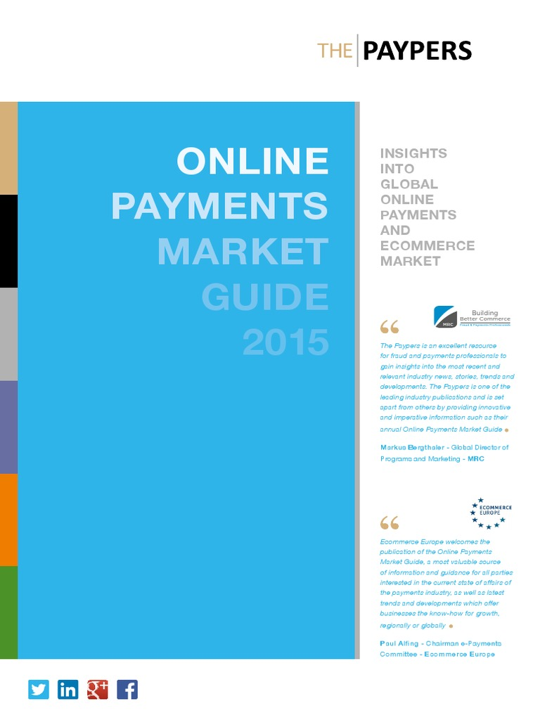 Online Payments Market Guide 2015 – Insights Into Payments