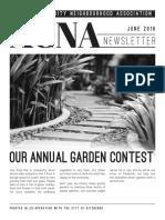 ACNA Newsletter for June 2016