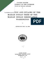 Aboriginal Constitution Model
