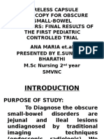 Wireless Capsule Endoscopy for Obscure Small-bowel