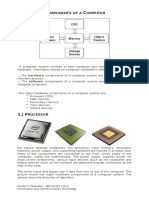 Components of a Computer - Information Technology and Communication